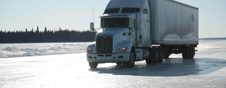 Play our Ice Road Truckers game.