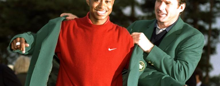 Tiger Woods wins first US Masters   Sky HISTORY TV Channel