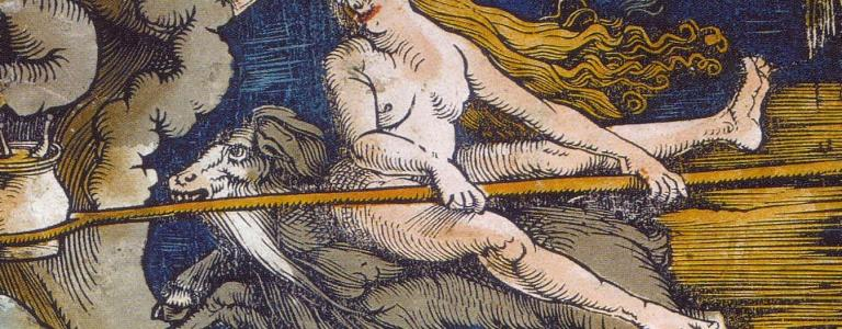 Witches by Hans Baldung woodcut 1508 | Public Domain | Wikipedia
