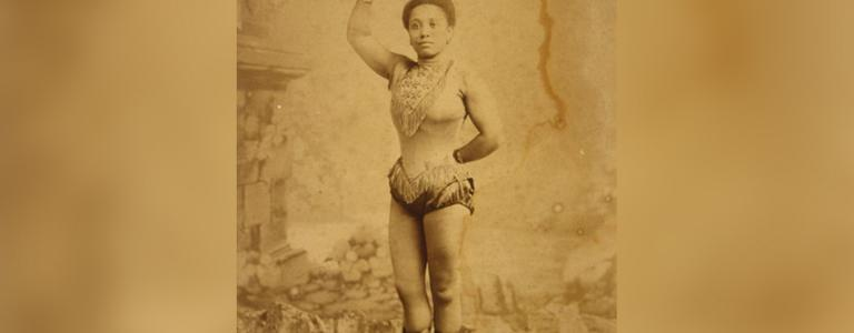 Miss Lala, born Anna Olga Albertina Brown was a famous 19th-century acrobat   Public Domain   Wikipedia