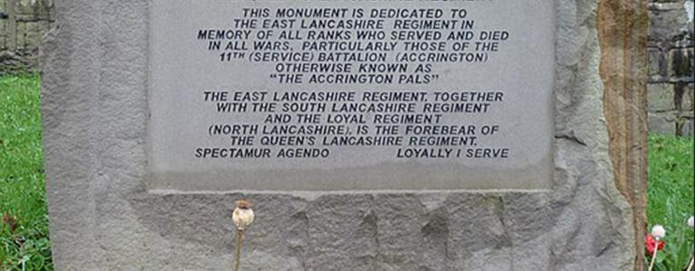 Accrington Pals by Tim Green | Flickr | Wikipedia | Creative Commons Attribution 2.0 Generic license