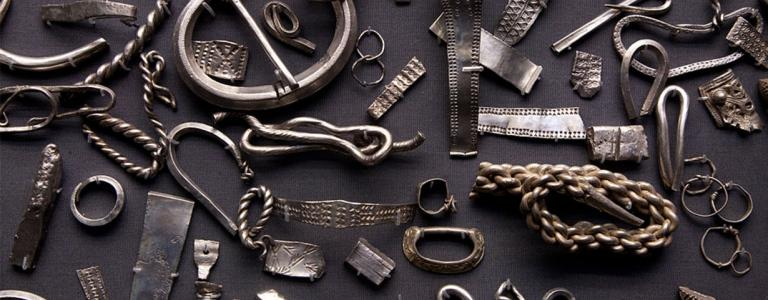 The Viking Cuerdale Hoard was discovered in the river Ribble
