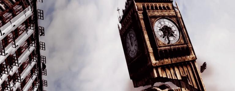 Big Ben collapses
