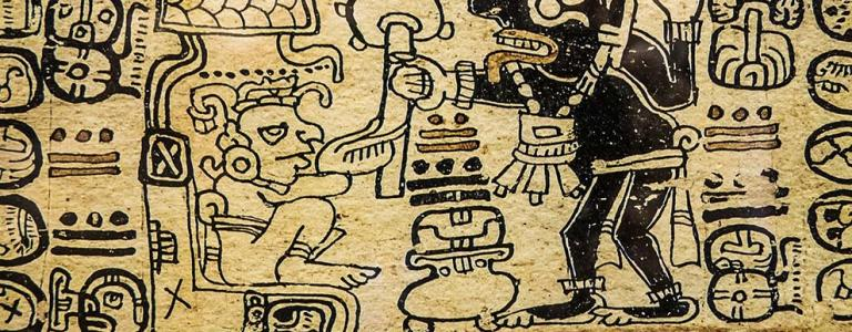 An Aztec picture