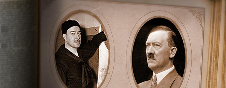 Hitler and his nephew