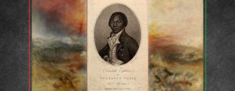 Slave Ship by JWM Turner and portrait of Olaudah Equiano by Daniel Orme | Public Domain