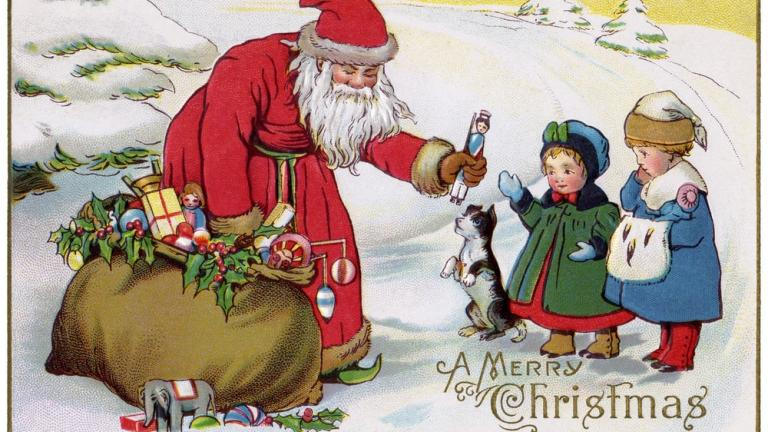 History of Santa Claus & Father Christmas   Sky HISTORY TV Channel